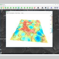 SEM topography - acquisition software